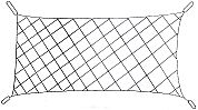Capture Net (8'x30') Large Mesh