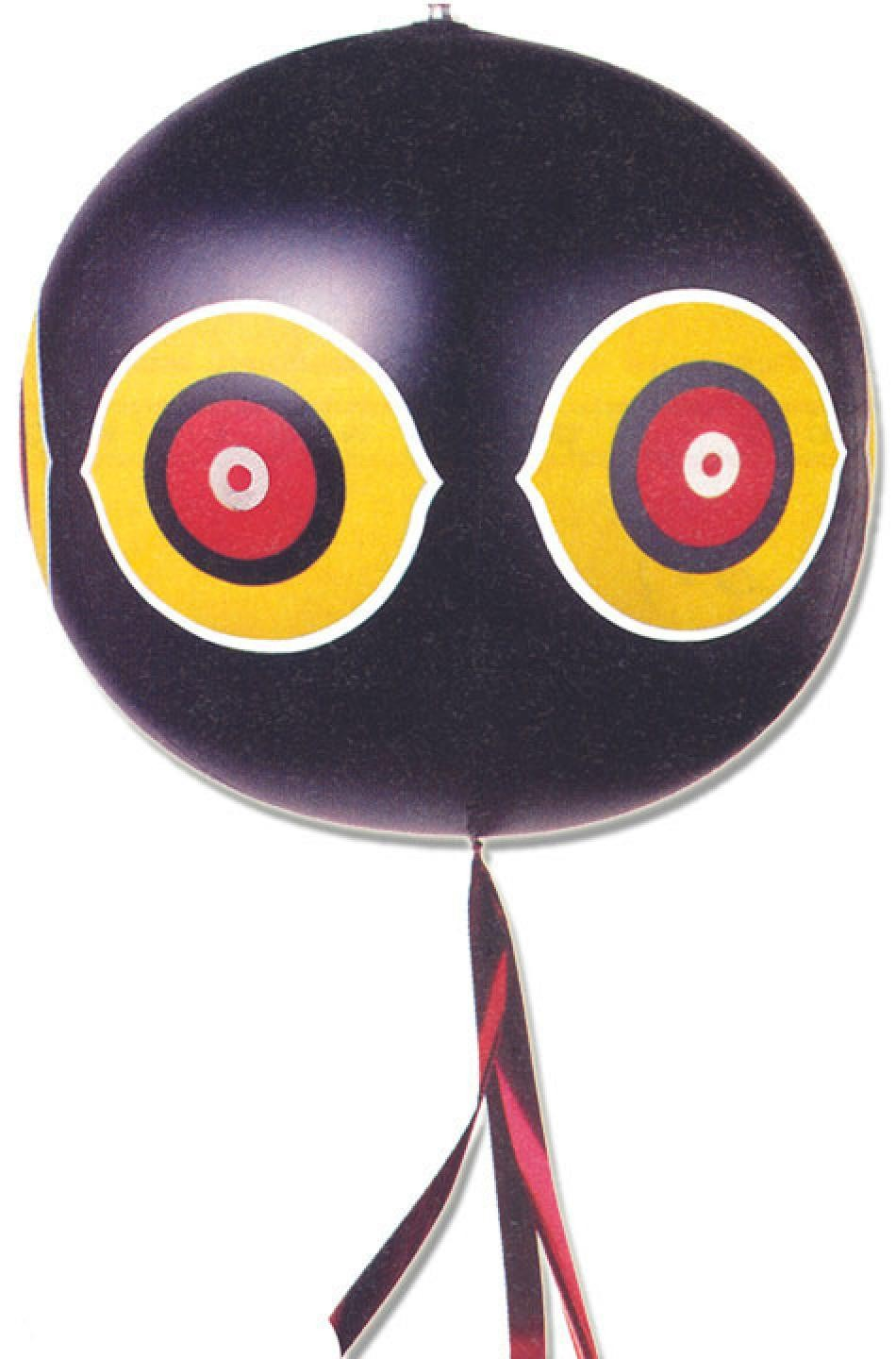 Scare Eye Balloon<br>Black