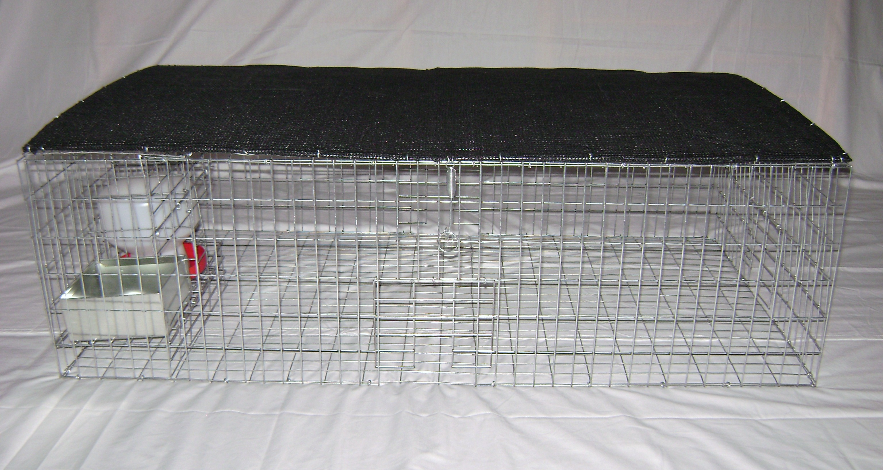 Large Pigeon Trap - Collapsible With Shade Screen